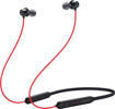 OnePlus Bullets Wireless Z Bass Edition Bluetooth Headset  (Reverb Red, In the Ear)
